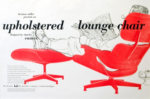 Lounge Chair and Ottoman poster