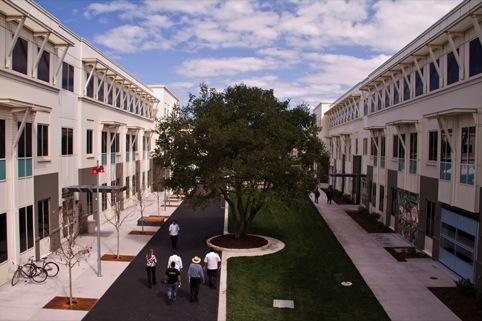 The current Menlo Park Campus