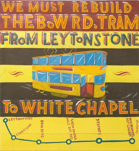 Rebuild the Bow Road Tram, by Bob  Roberta Smith