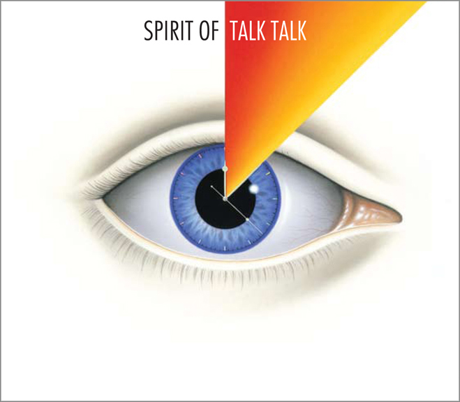 Spirit of Talk Talk CD which accompanies book release