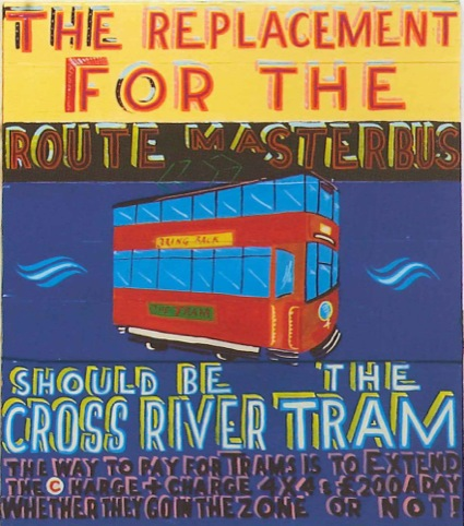 The Replacement for the Routemaster Bus, by Bob Roberta Smith