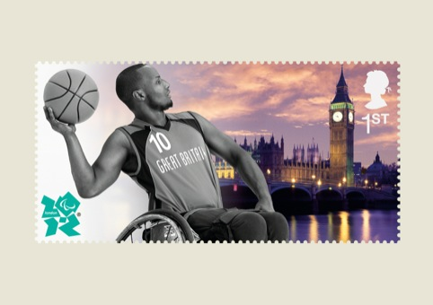 Paralympics Stampcards Basketball