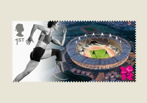 Paralympics Stampcards Running