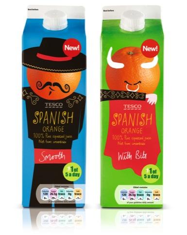 Spanish Orange Juice design by P&W