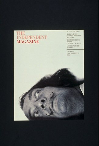 Independent Magazine cover, by Derek Birdsall