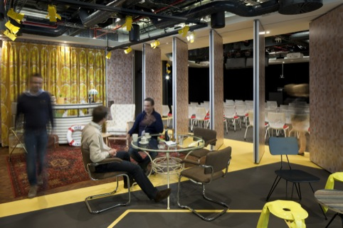 New YouTube office design by Penson