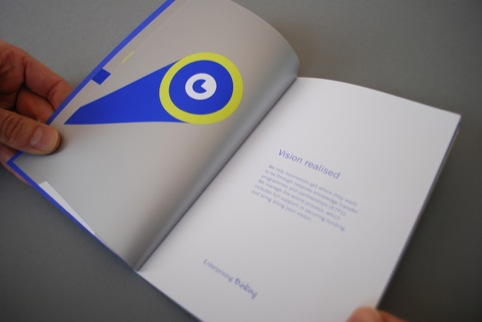 The booklet of 'Big Business Benefits'