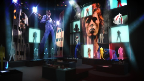 Concept visulaisation for David Bowie Is by 59 Productions