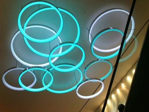 Primark Oxford Street east light fittings