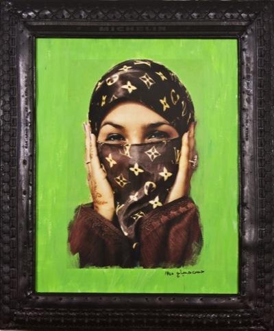 Hassan Hajjaj, Saida in Green, 2000