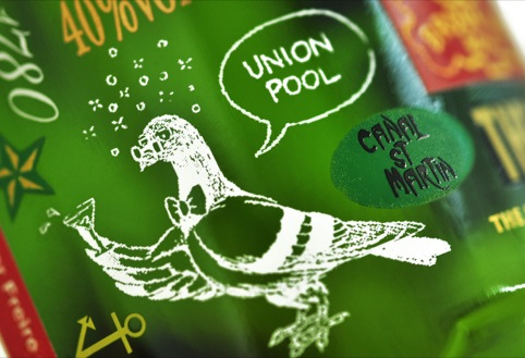 Detail from the Jameson Urban Holiday bottle