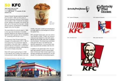 The KFC logo, featuring the Colonel