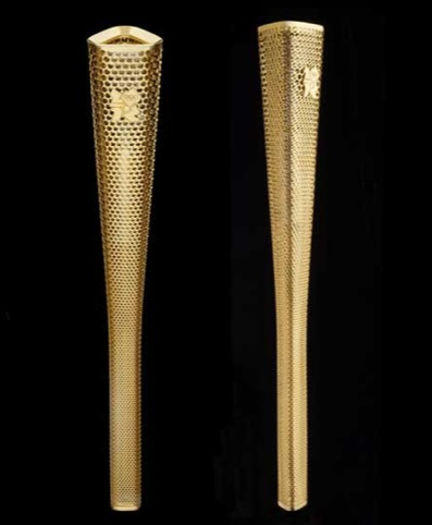 London Olympic Torch by Edward Barber and Jay Osgerby