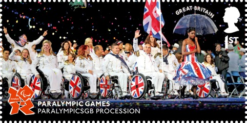 Paralympic Memories 1st class stamps