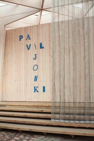 The World Design Capital Pavilion, designed by Pyry-Pekka Kantonen