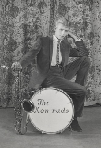 Promotional shoot for The Kon-rads. Photograph by Roy Ainsworth 1963
