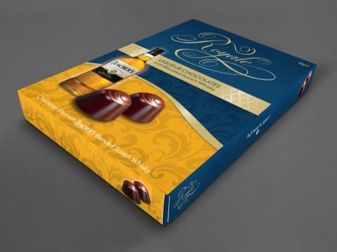 Royale liqueur chocolates
