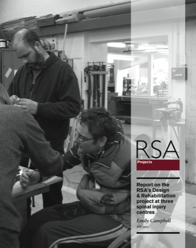 The front cover of the RSA's report