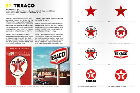 Texaco's red star