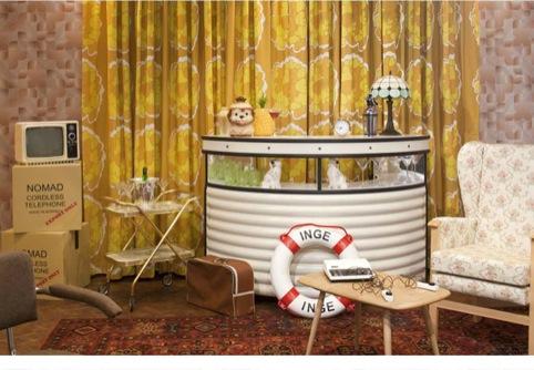 Del Boy's living room recreated
