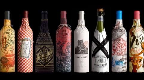 The range of wine