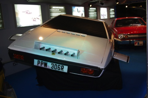 The Lotus Esprit, as driven in The Spy Who Loved Me