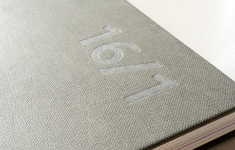Fedrigoni 16/1 cover detail