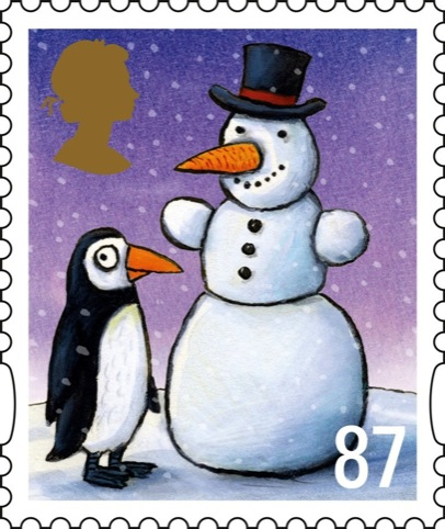 The Royal Mail's 87p stamp