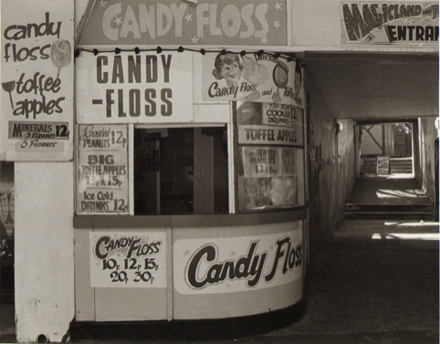 1980 Candy Floss Stall.