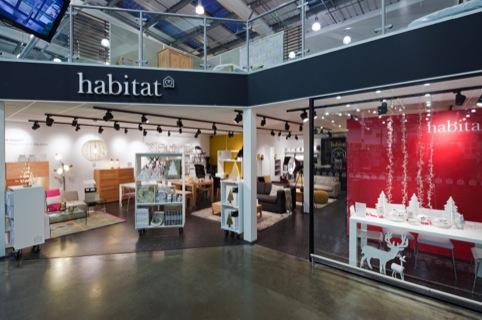 The Habitat concession at Ruislip Homebase