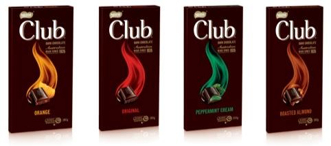 Nestle Club range