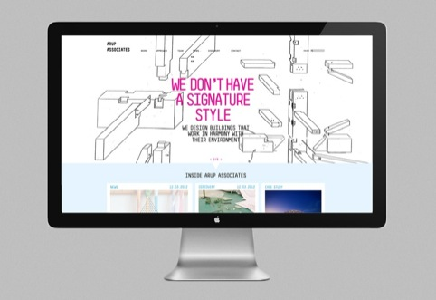 The Arup Associates website