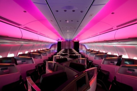 Inside the new upper-class virgin atlantic suite