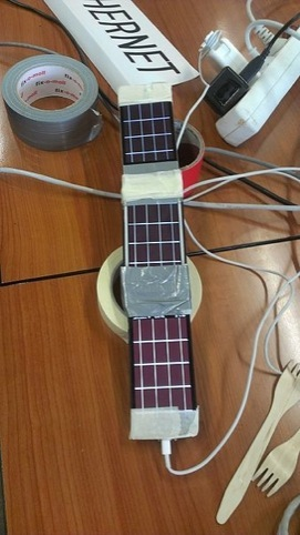 A 'ukulele' was designed at a recent Music Hackday
