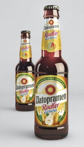 Zlatopramen Zimni beer
