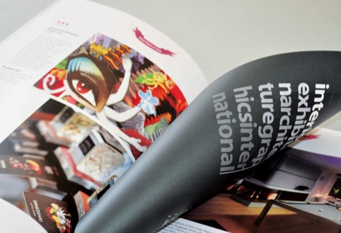 Winning work showcased in the 2012 Design Week Awards Book