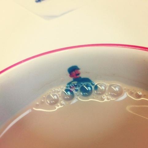 Tea jacuzzi