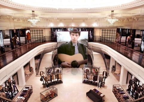 Burberry's new store