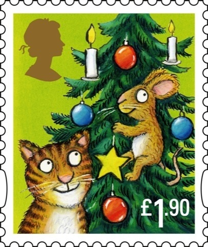 A Webb and Webb-designed Christmas stamp