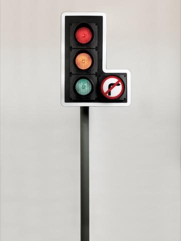 Traffic light, by David Mellor