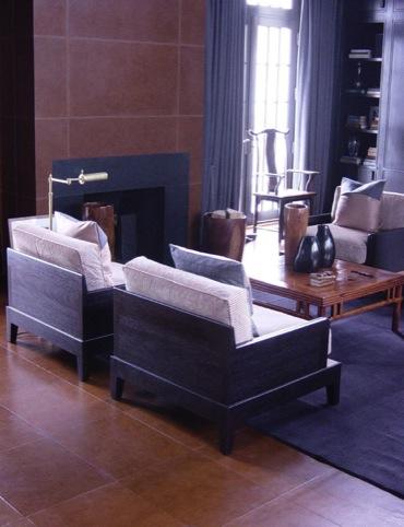 Leather floors