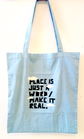 Peace Tote by Gemma Busquet