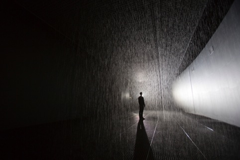 Random International's Barbicamn Rain Room