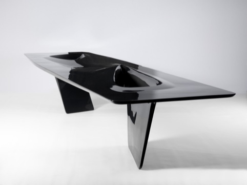 Seoul Table by Zaha Hadid and partner and Patrik Schumacher