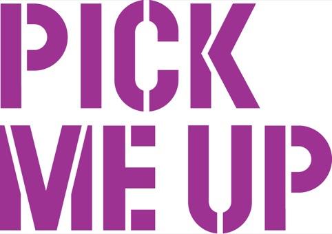 Pick Me Up logo in purple