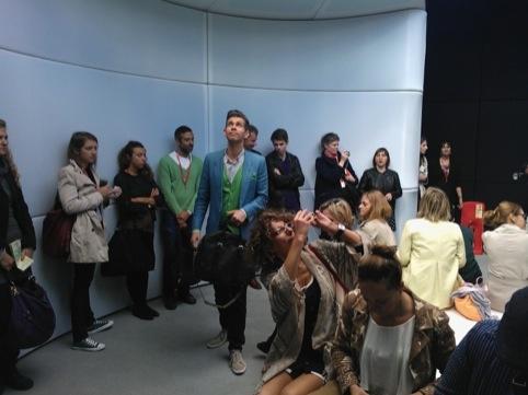 The Sound Portal in use at London Design Festival