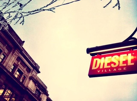 Diesel Village Regent Street pop-up