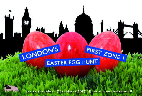 Zone 1 Easter Egg hunt