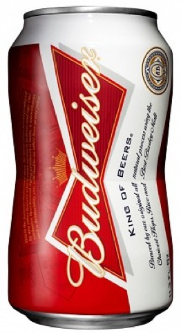 New bowtie-shaped Budweiser can
