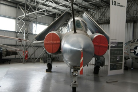 A Blackburn Buccaneer at Scotland's National Museum of Flight